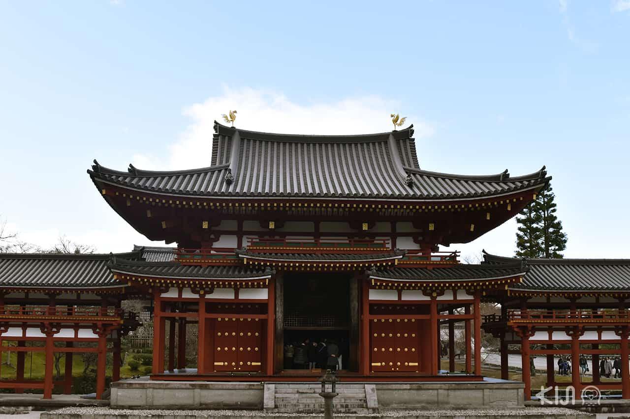 วัดเบียวโดอิน (Byodoin Temple) เมืองอุจิ (Uji) จังหวัดเกียวโต (Kyoto)