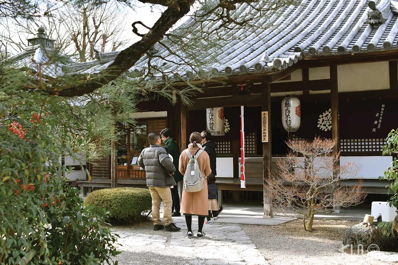 ศาสเจ้าในวัดเบียวโดอิน (Byodoin Temple) เมืองอุจิ เกียวโต