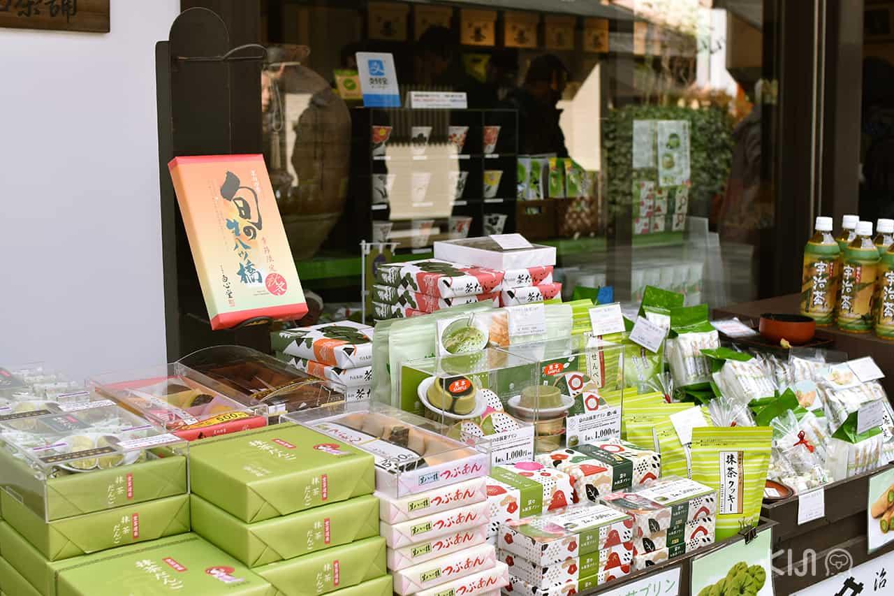 ของฝาก Uji Matcha ที่ Byodoin Omotesando
