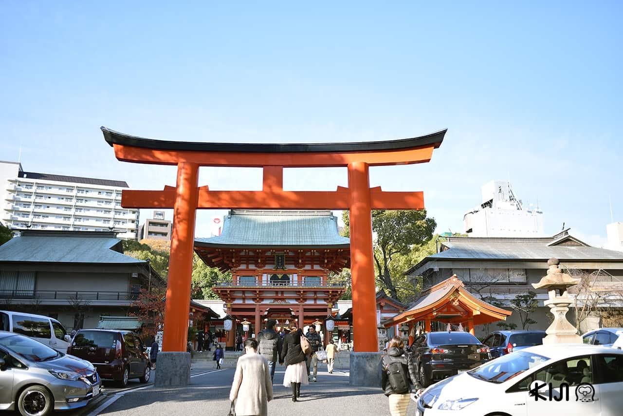 ศาลเจ้าอิคุตะ (Ikuta Shrine) เมืองโกเบ จังหวัดเฮียวโงะ
