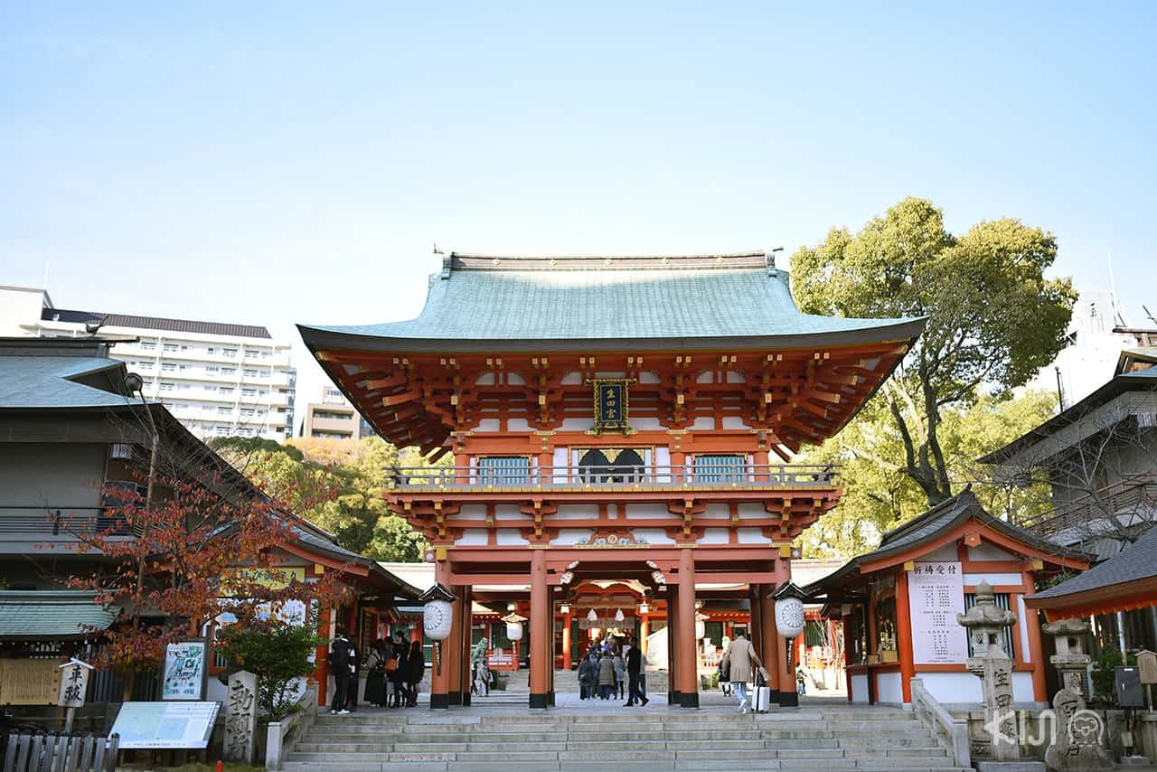 ศาลเจ้าอิคุตะ (Ikuta Shrine) ศาลเจ้าเก่าแก่ในเมืองโกเบ จังหวัดเฮียวโงะ