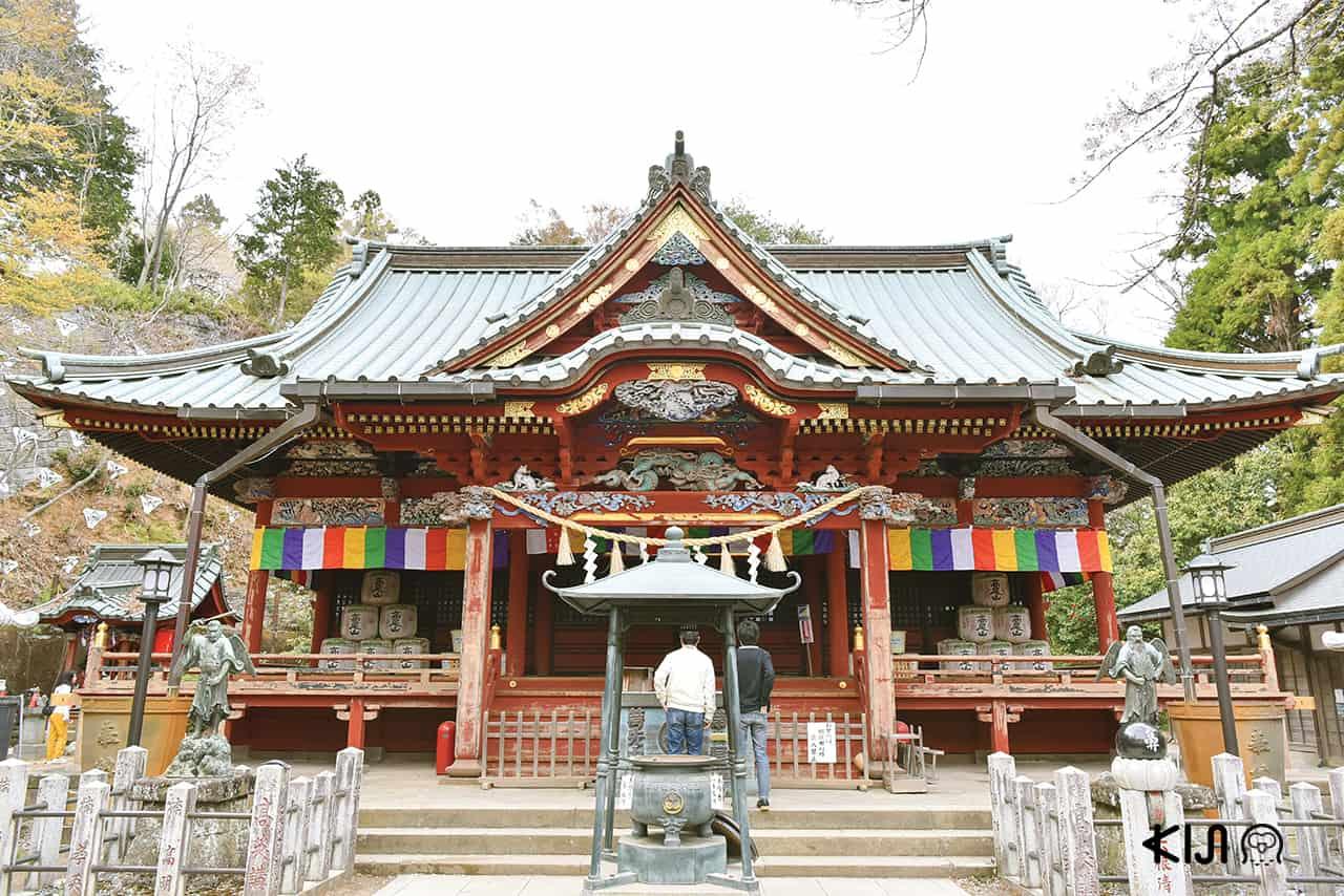 วัดยาคุโออิน (Takaosan Yakuou-in Temple) ที่ ภูเขาทาคาโอะ