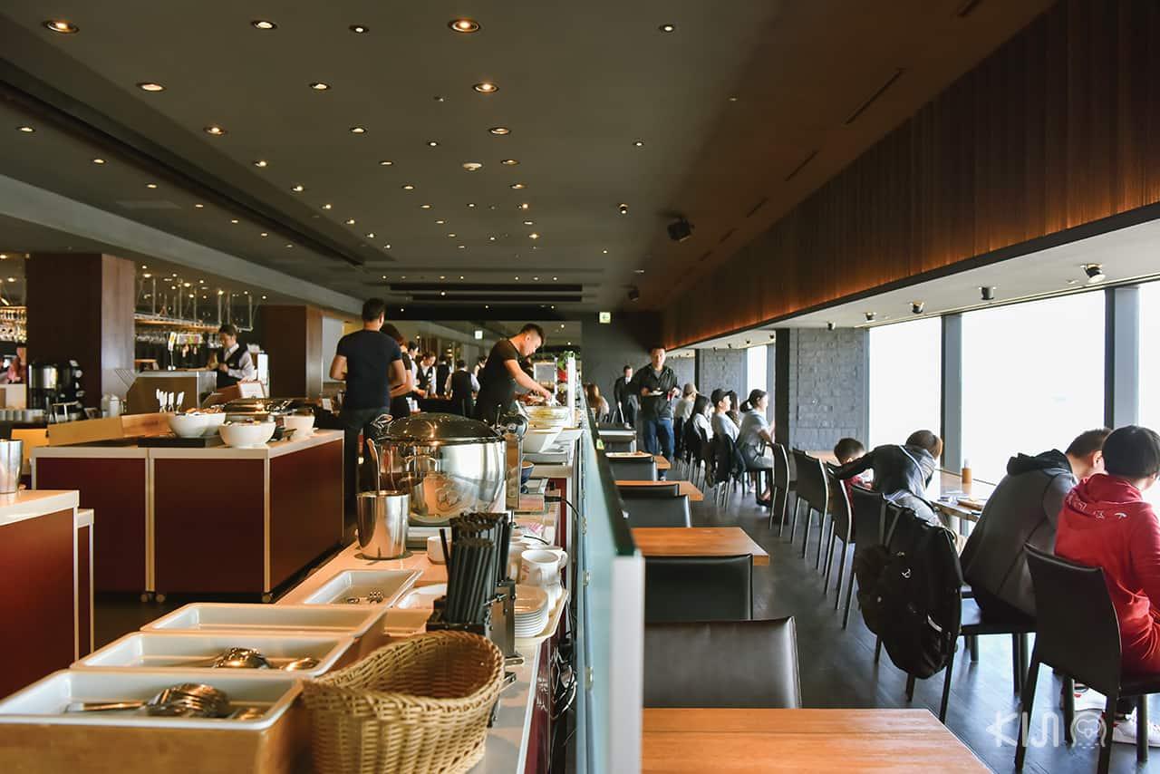 ห้องอาหารของโรงแรม Shinjuku Washington Hotel
