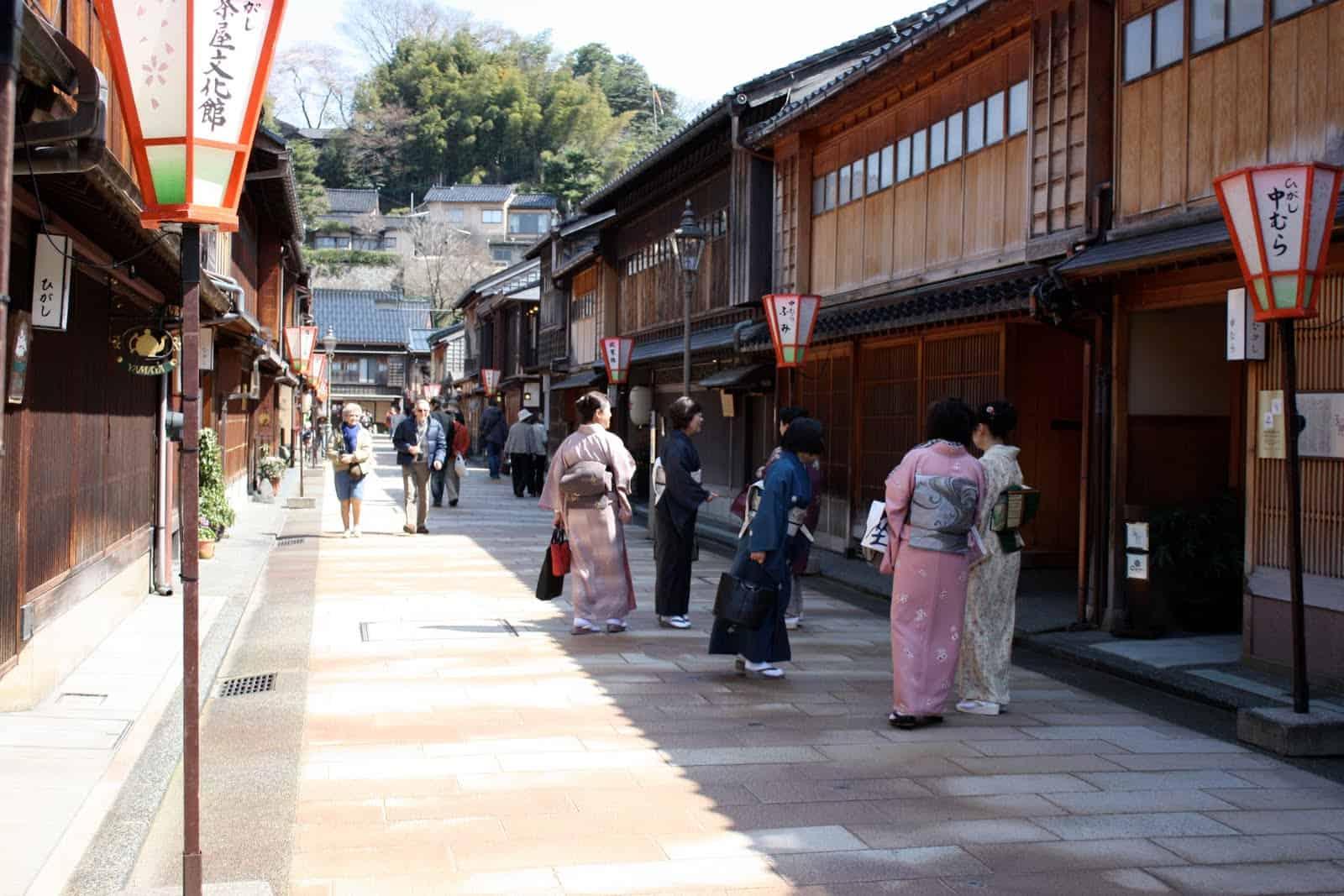 Higashi Chaya, kanazawa, ishikawa