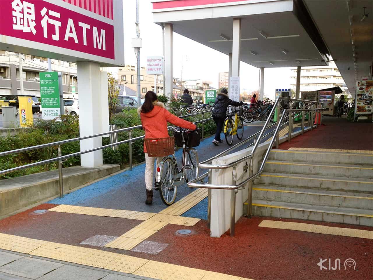 ทางลาดที่ประเทศญี่ปุ่น
