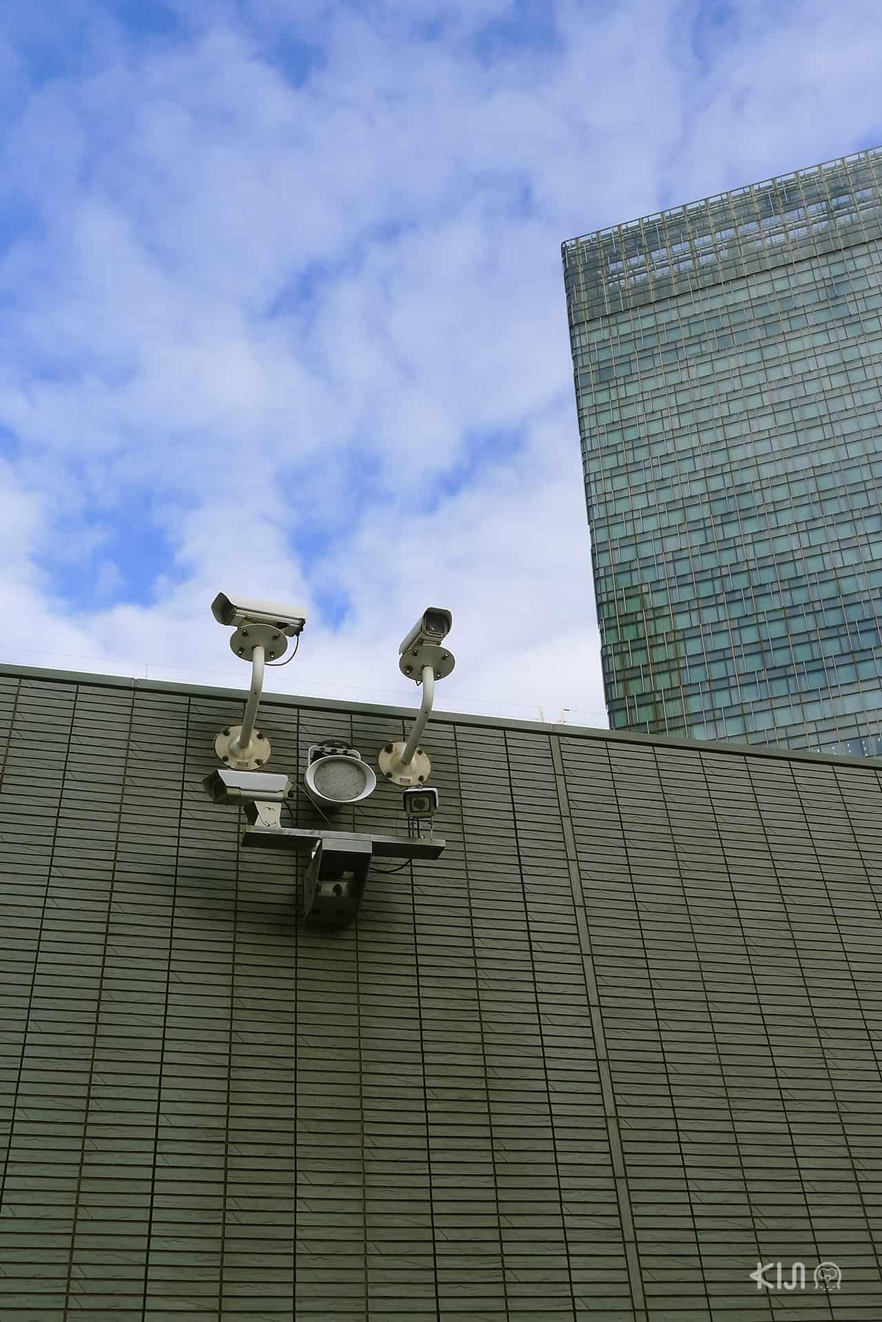 มีกล้อง CCTV ติดทั่วญี่ปุ่น