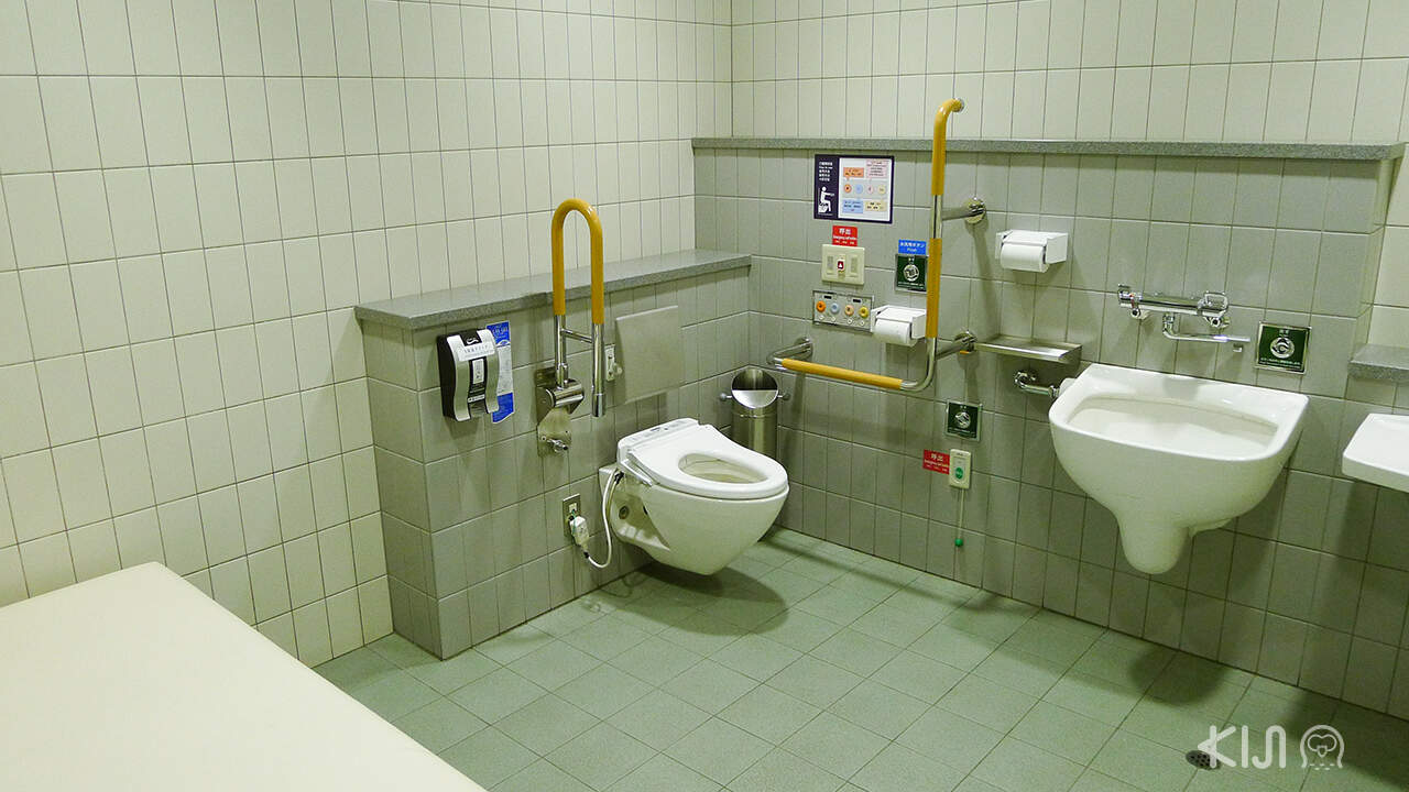 ห้องน้ำที่อยู่ญี่ปุ่น