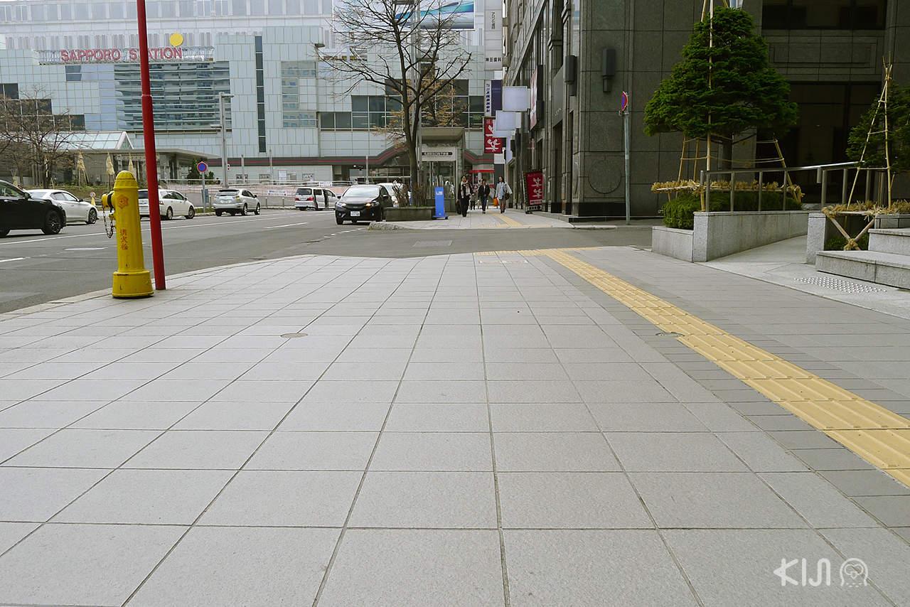 ทางเท้าในประเทศญี่ปุ่น