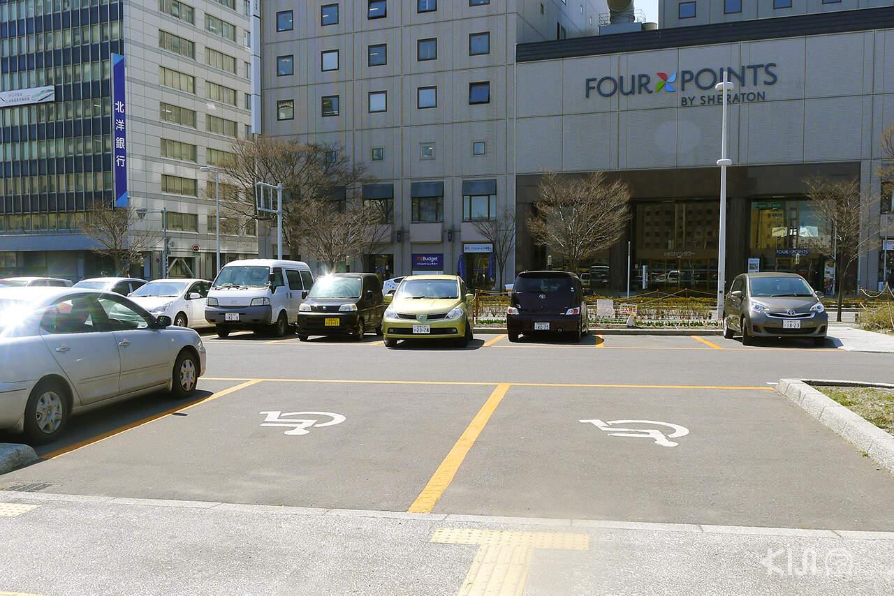 Universal Design ในญี่ปุ่น - Priority Parking