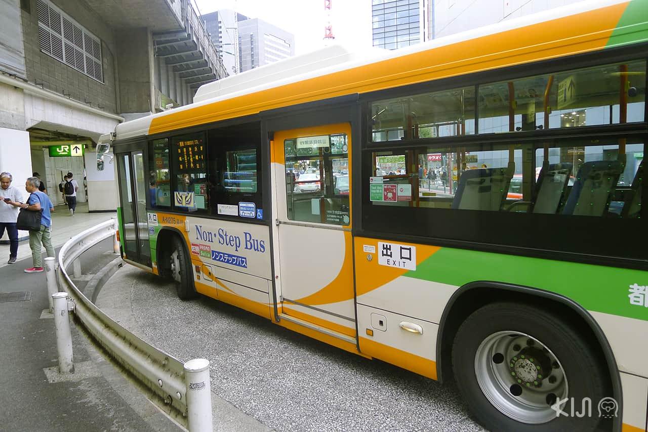 Universal Design ในญี่ปุ่น (japan) - non-step bus