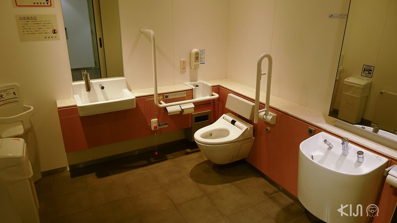 7 เรื่องที่ทำในญี่ปุ่นได้ง่าย : หาห้องน้ำสาธารณะได้ง่าย