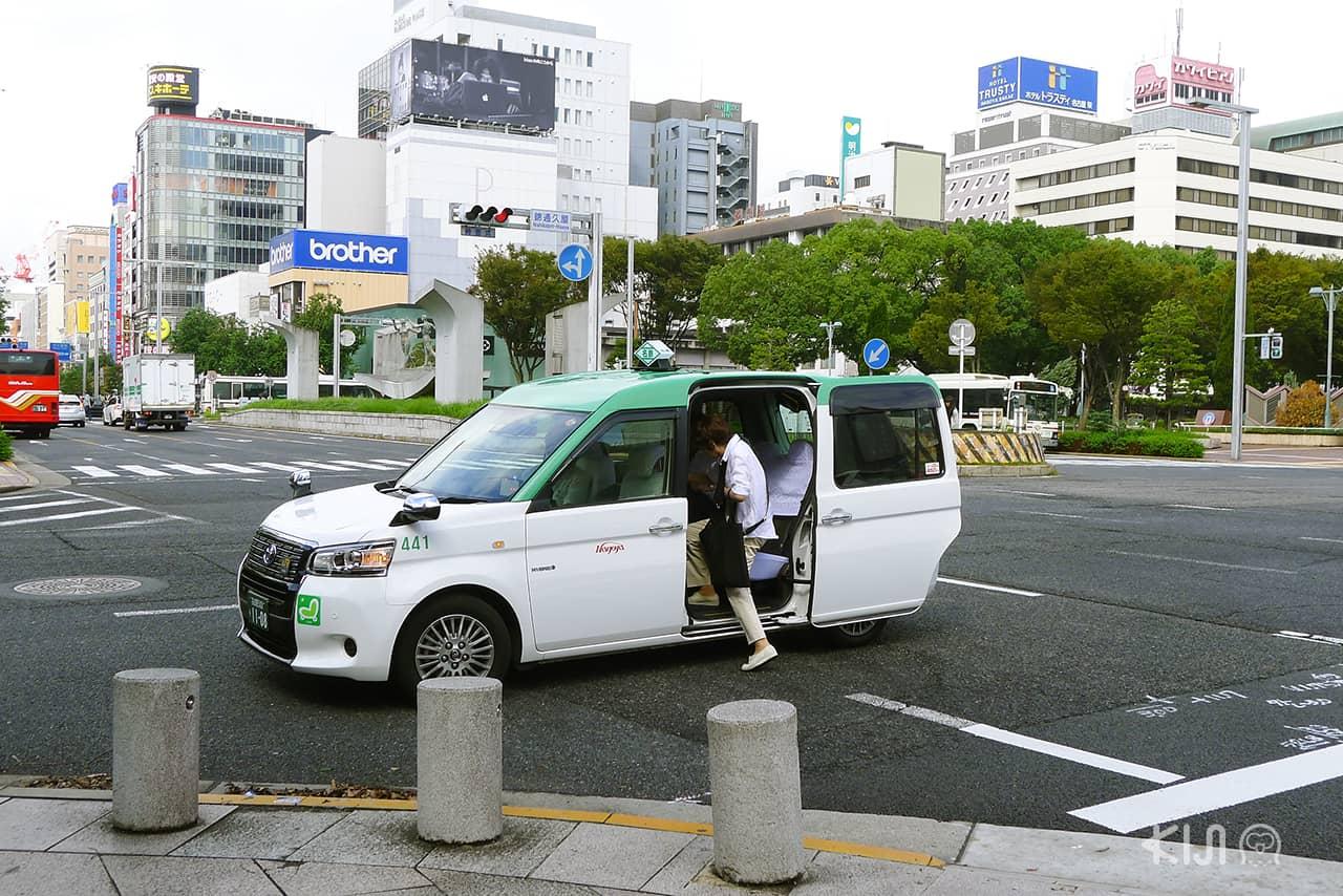 Universal Design ในญี่ปุ่น (japan) - แท็กซี่