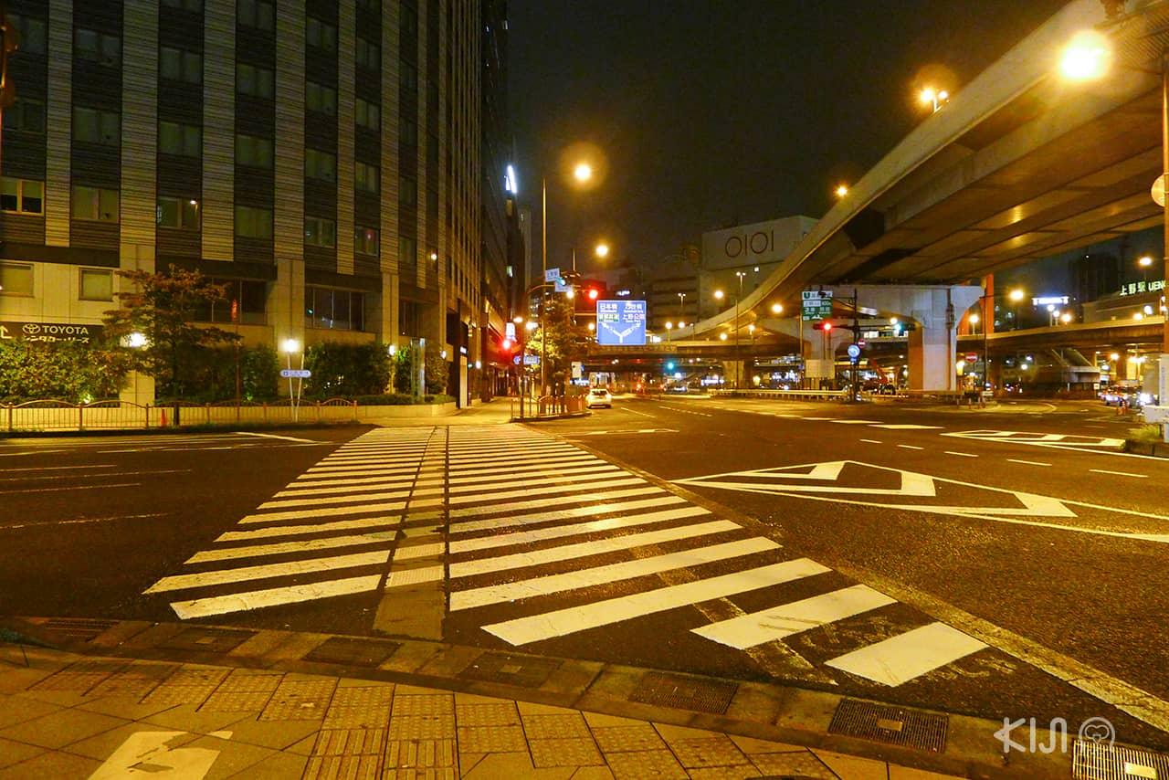 7 เรื่องที่ทำในญี่ปุ่นได้ง่าย : ข้ามถนนง่าย