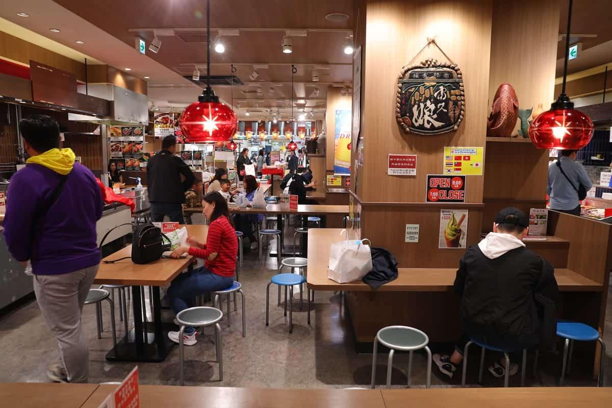 บรรยากาศภายในร้าน 千成屋 - Kuromon Fish Market