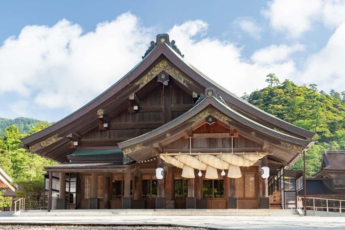 เที่ยวญี่ปุ่น คนน้อย ที่ใหม่ๆ ศาลเจ้าอิซึโมะ (Izumo Shrine : 出雲大社)