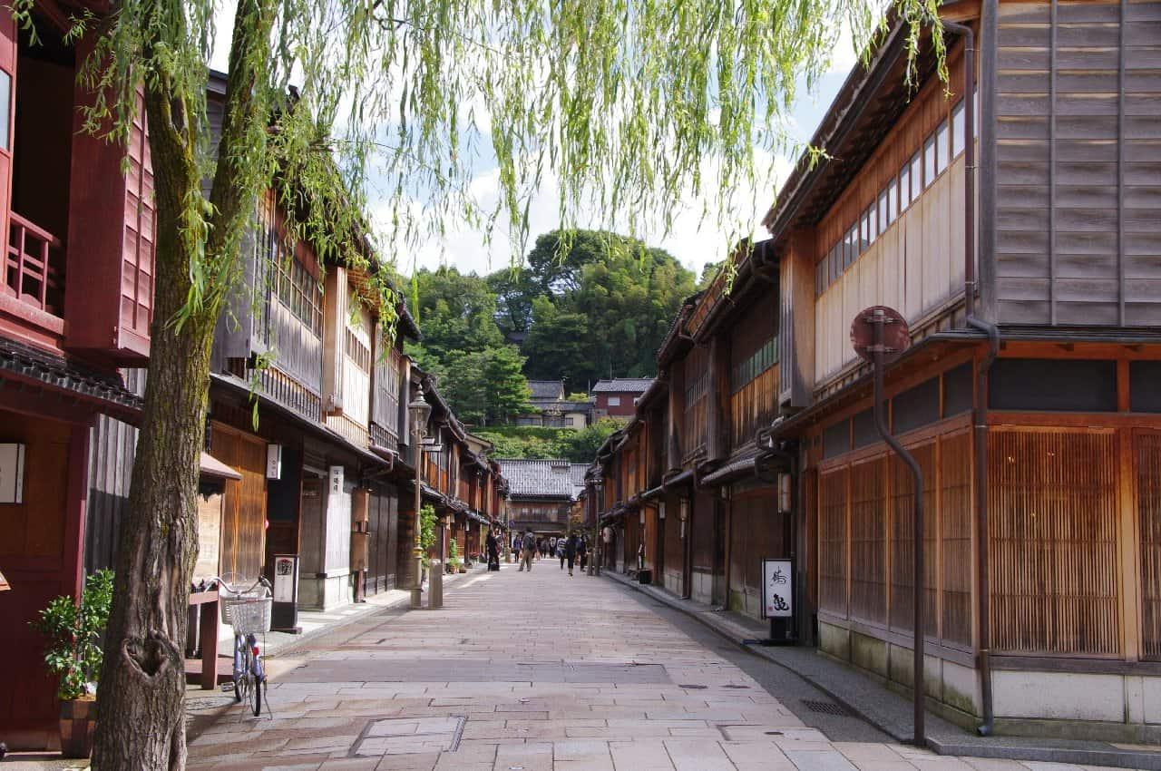 ฮิกาชิชายะ (Higashi Chaya) เมืองคานาซาว่า จังหวัดอิชิกาวะ