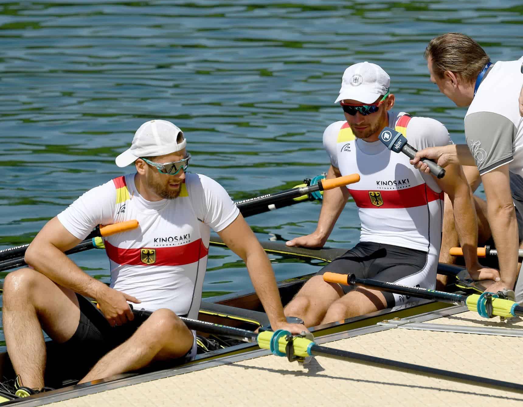 ปี ค.ศ. 2020 นักกีฬาโอลิมปิกจากยุโรปมาซ้อมพายเรือกันที่ Maruyama River
