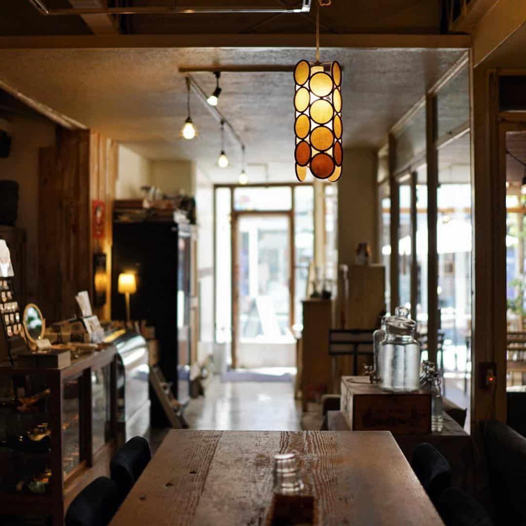 คาเฟ่โตเกียว bio ojiyan cafe
