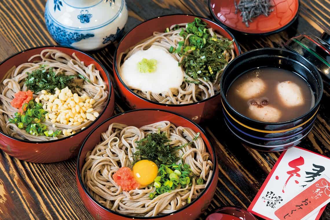 Izumo Soba 出雲そば อาหารท้องถิ่นขึ้นชื่อของจังหวัดชิมาเนะ