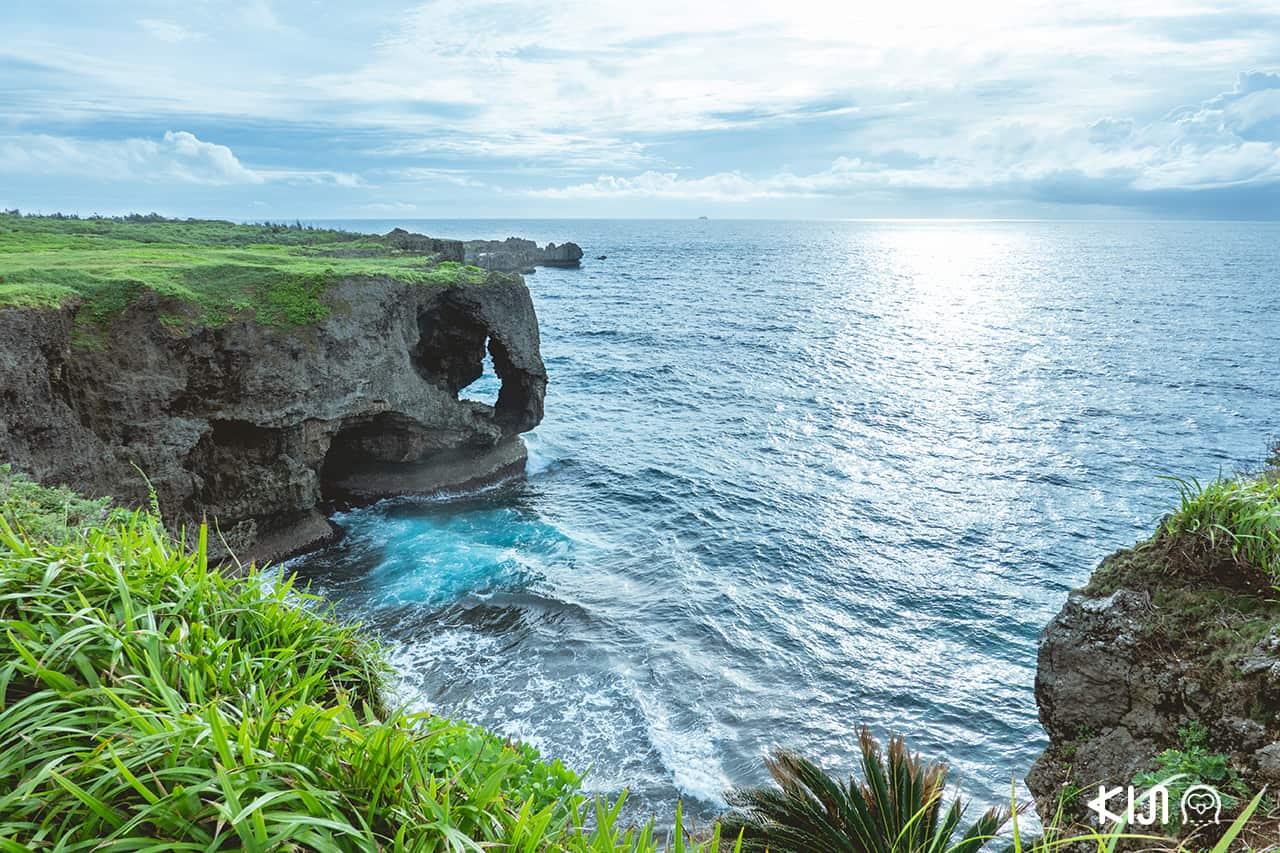 เที่ยว โอกินาว่า (Okinawa) - Cape Manzamo ผามันซาโมะ