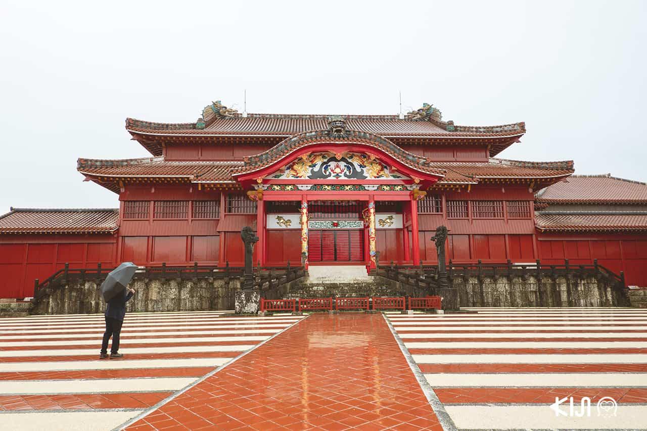 เที่ยว โอกินาว่า (Okinawa) - Shuri Castle ปราสาทชูริ