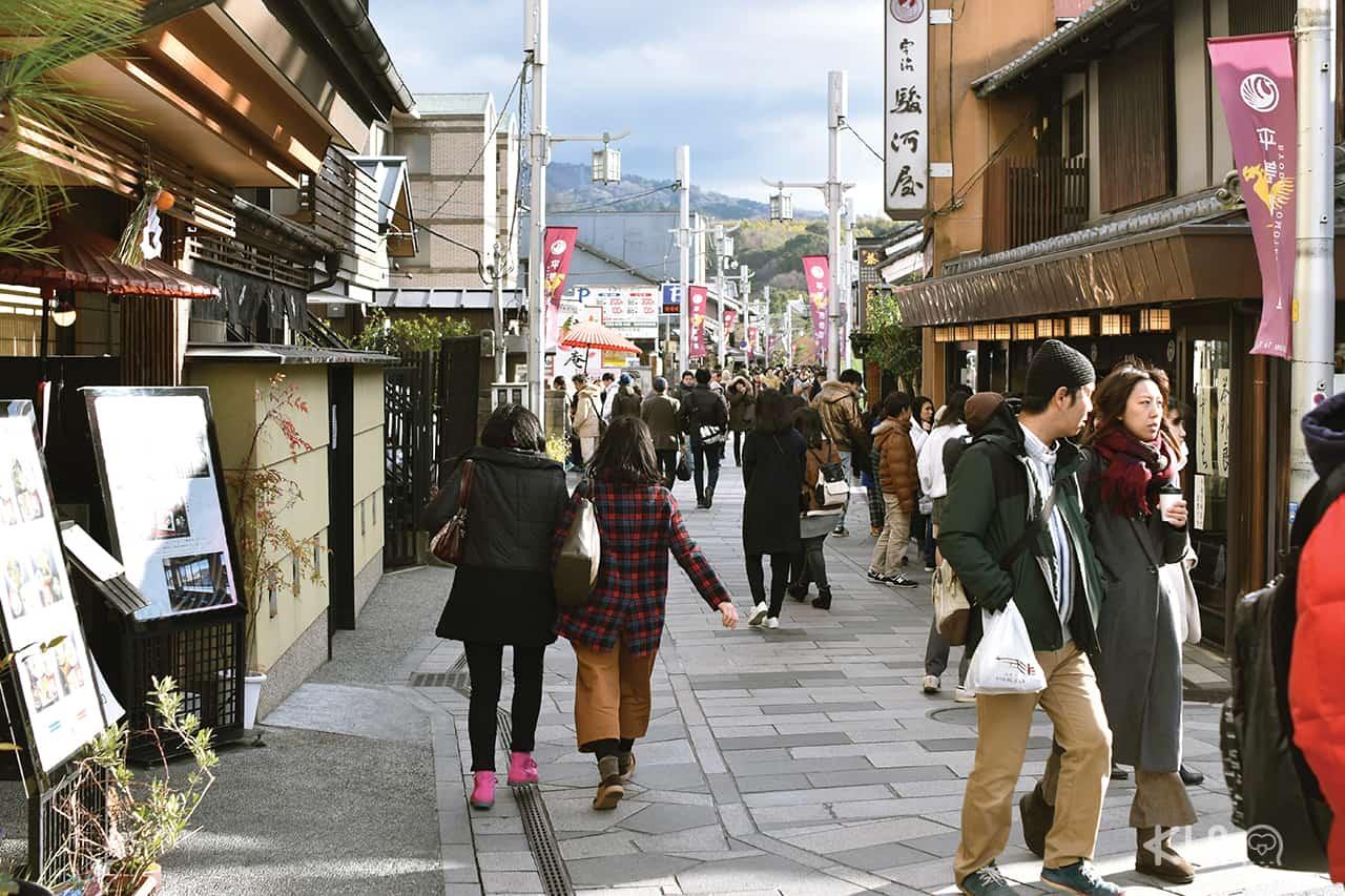 แพลนเที่ยว อุจิ uji ถนนเบียวโดอิน โอโมเตะซันโด (Byodoin Omotesando)