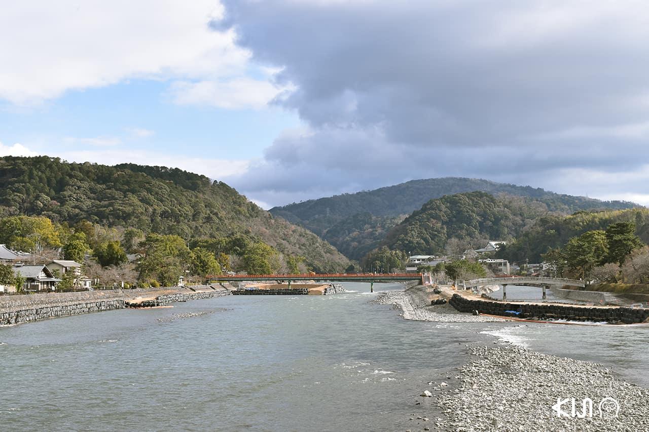 เที่ยวอุจิ เกียวโต สะพานอุจิ (Ujibashi Bridge)