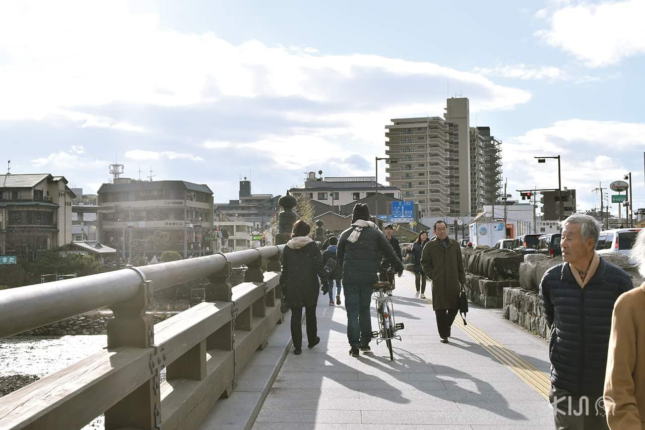 แพลนเที่ยว อุจิ uji - สะพานอุจิ (Ujibashi Bridge)