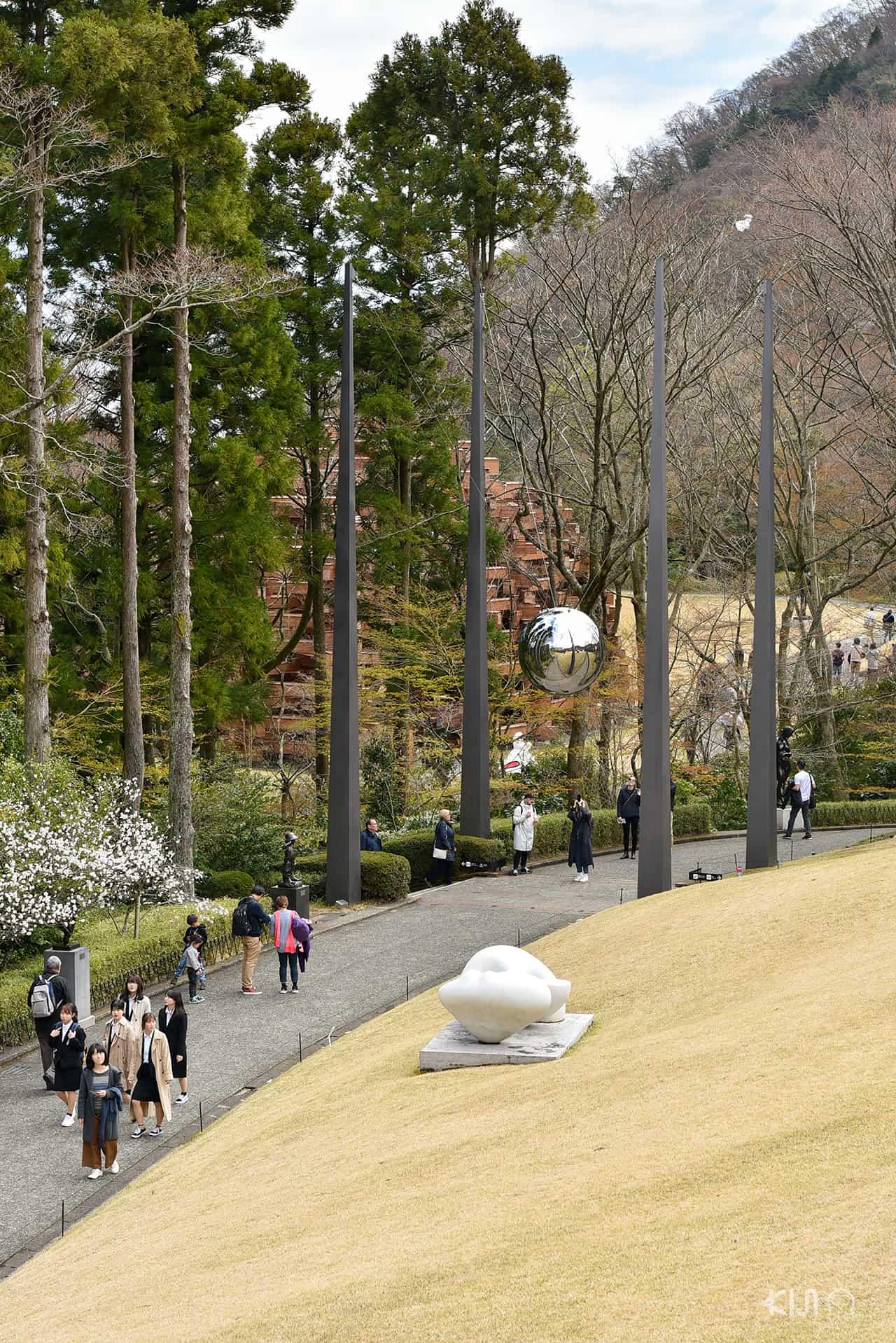 พิพิธภัณฑ์ Hakone Open Air Museum ในเมืองฮาโกเน่