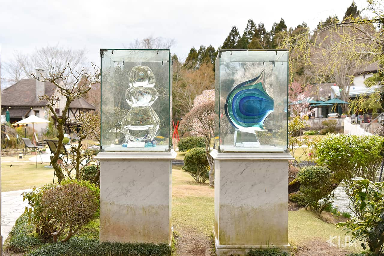 Hakone Venetian Glass Museum พิพิธภัณฑ์ เครื่องแก้วเวนิสใน ฮาโกเน่