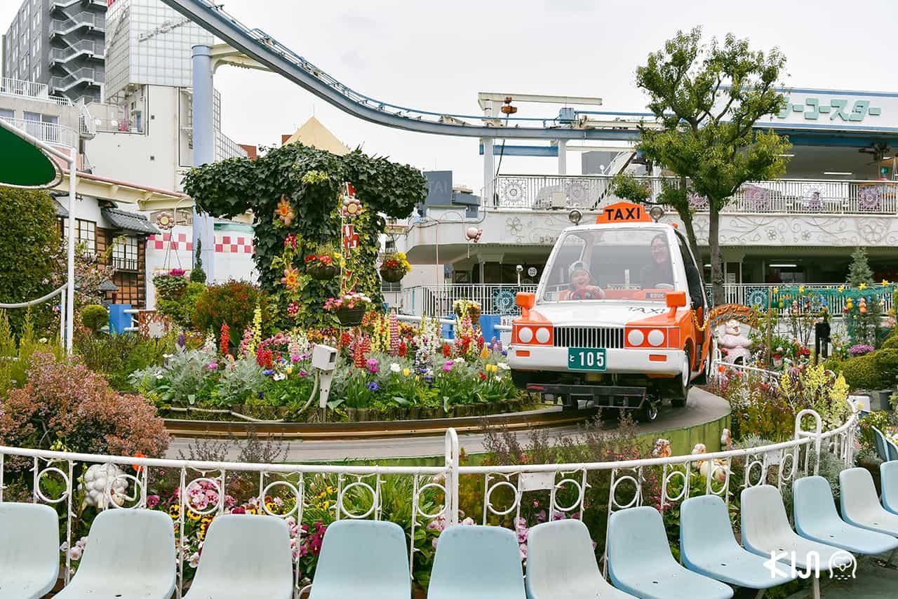 สวนสนุกในโตเกียวฮานายาชิกิ (Hanayashiki)