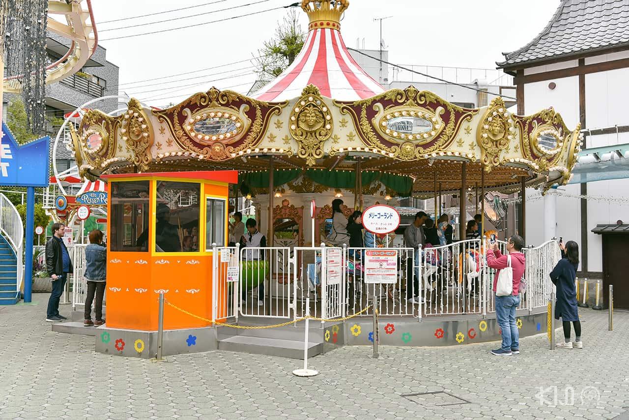 สวนสนุก Hanayashiki โตเกียว