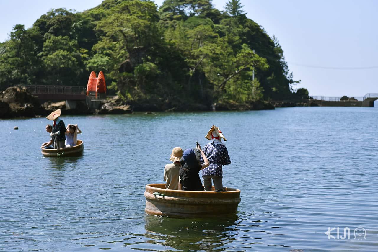 นั่งเรือ Tarai Bune เกาะซาโดะ นีงาตะ
