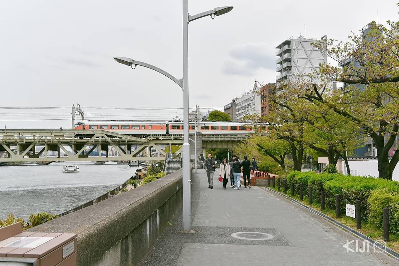 Sumida River สถานีรถไฟอาซากุสะ