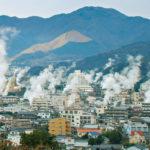 beppu city-kyushu region-japan