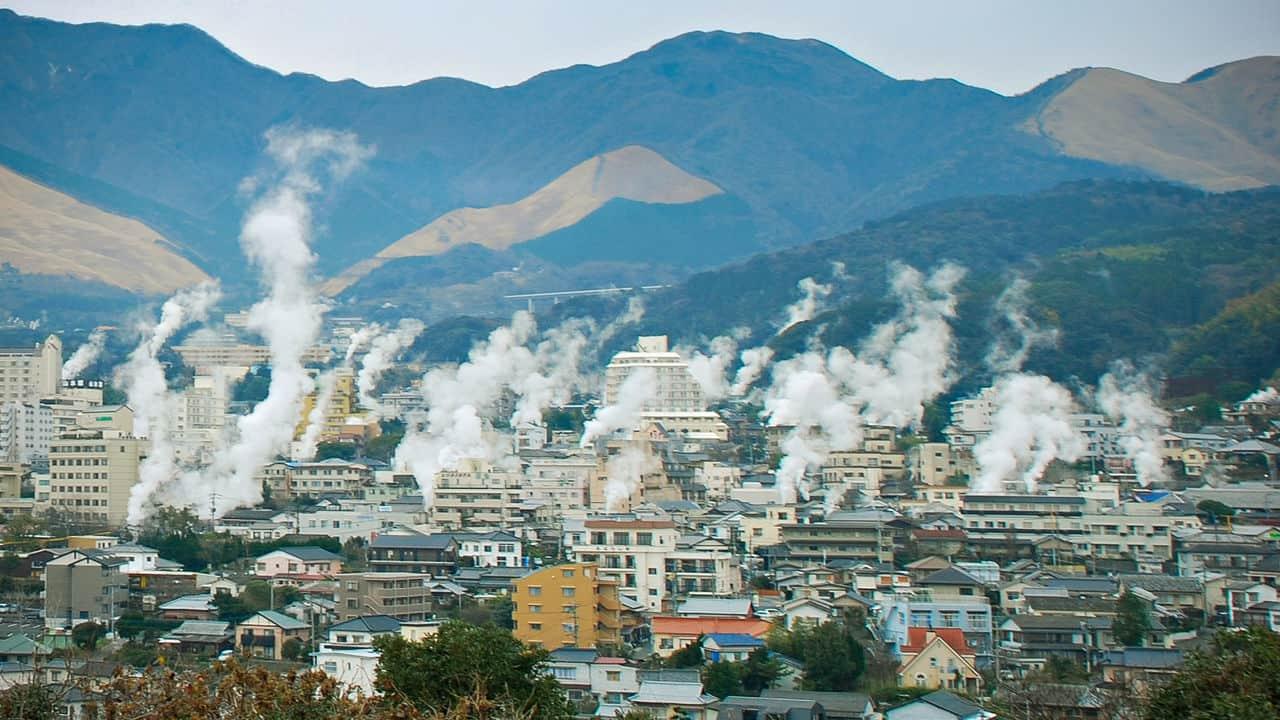 เบปปุ เมืองออนเซ็นในจังหวัดโออิตะ เที่ยว เมืองรอง ญี่ปุ่น