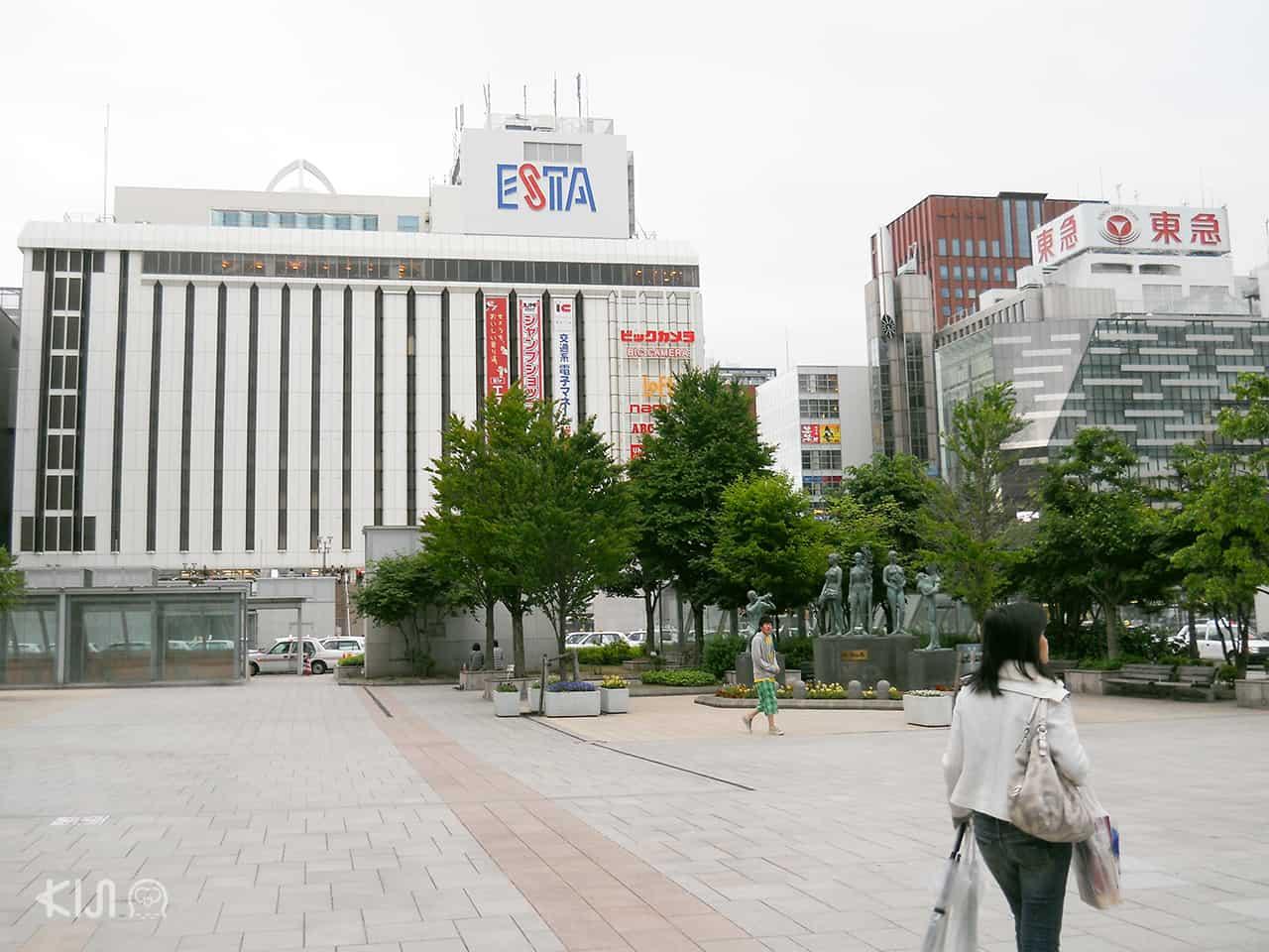ห้าง Esta Sapporo station