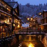 ginzan onsen-ryokan village-tohoku-japan#2