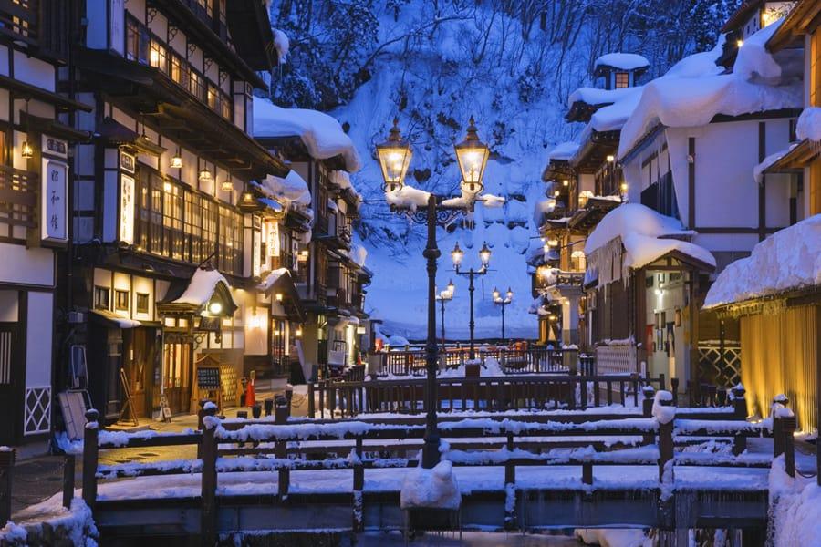 เที่ยว เมืองรอง ญีปุ่น Ginzan Onsen
