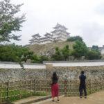 himeji castle pond-japan