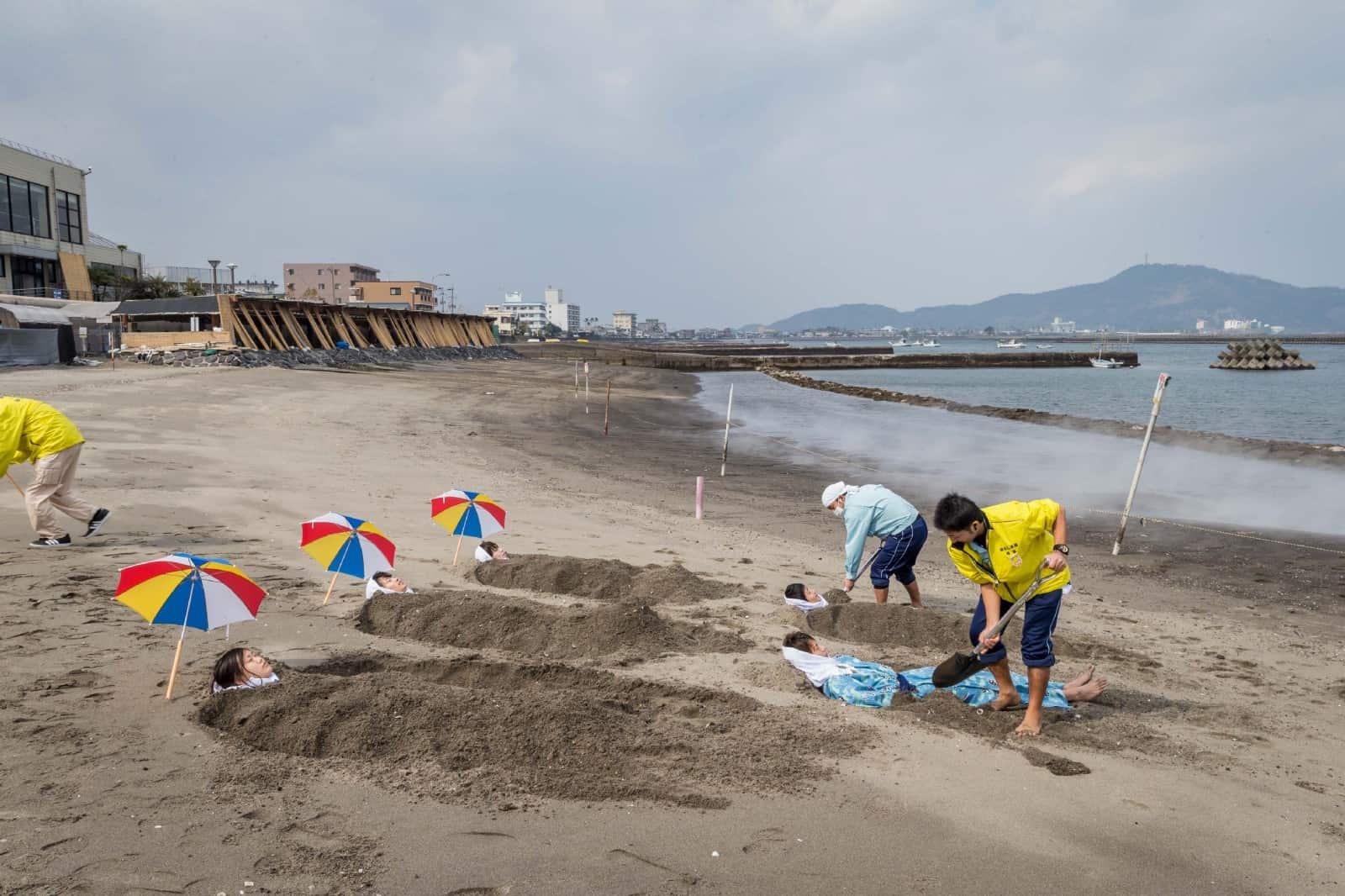 Ibusuki Sand Bath, Kagoshima