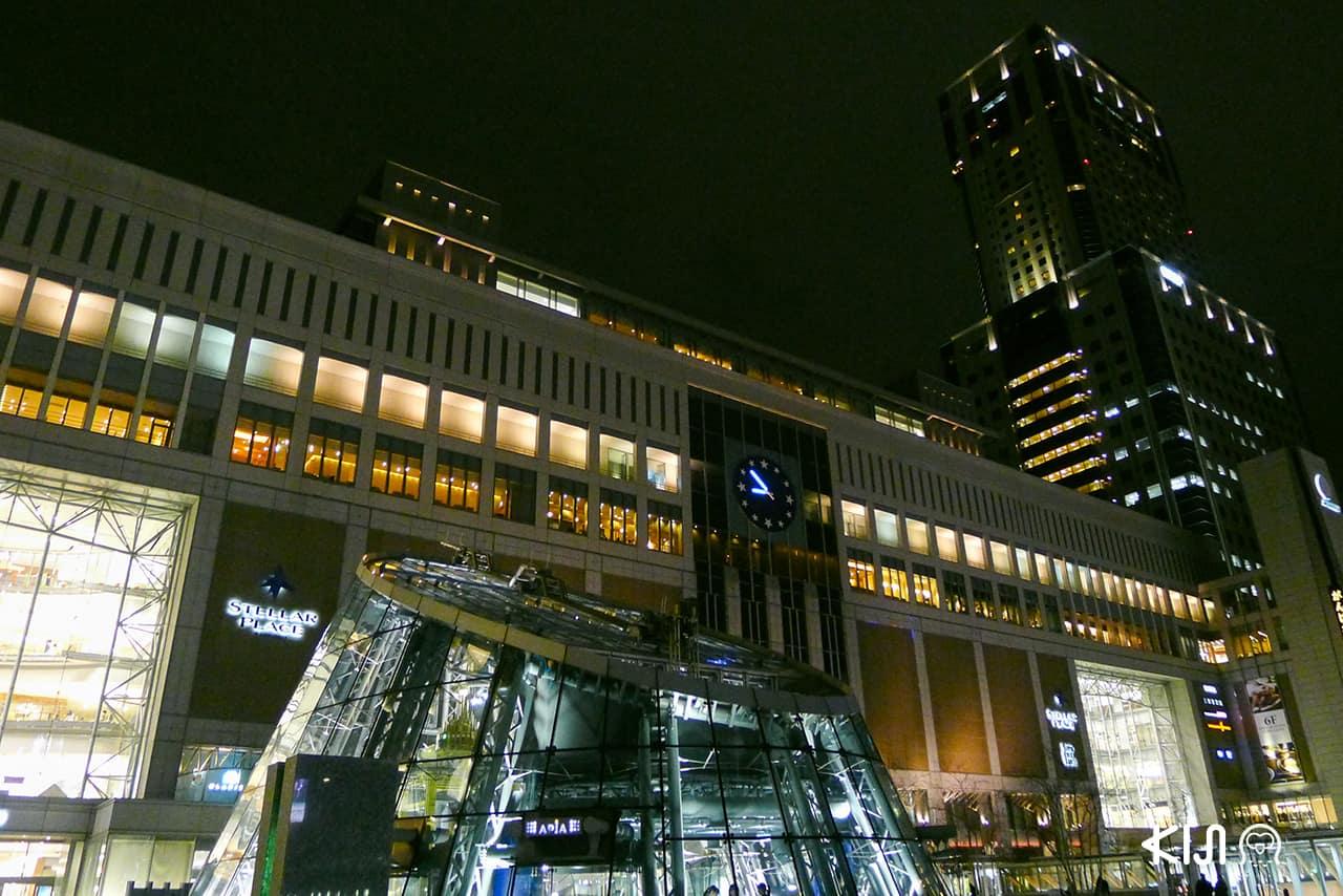 แหล่งท่องเที่ยว สถานีรถไฟในญี่ปุ่น Sapporo station
