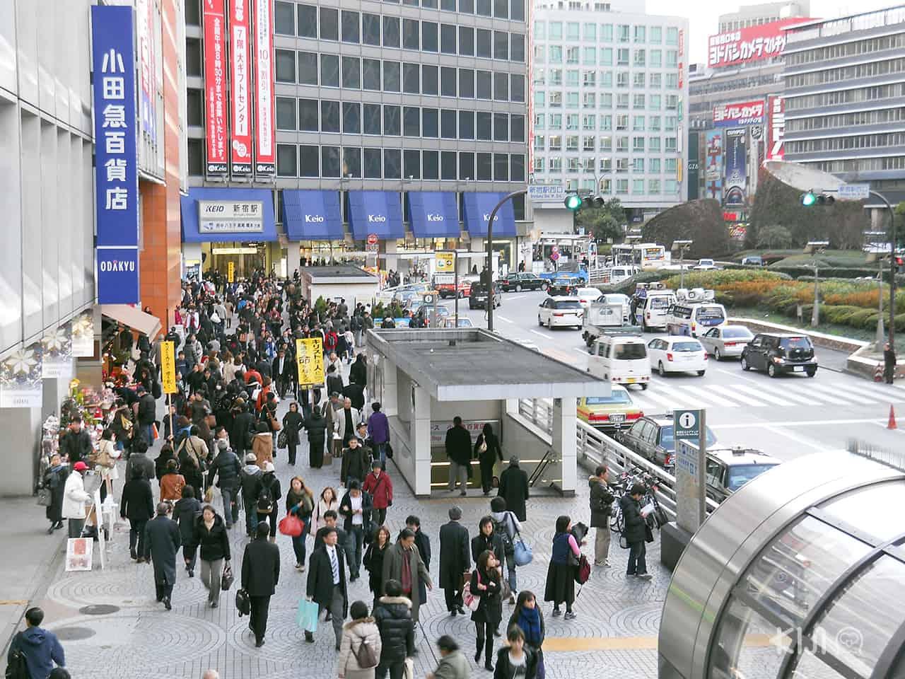 ห้างสรรพสินค้ารอบๆ สถานีรถไฟชินจูกุ - แหล่งท่องเที่ยว สถานีรถไฟในญี่ปุ่น
