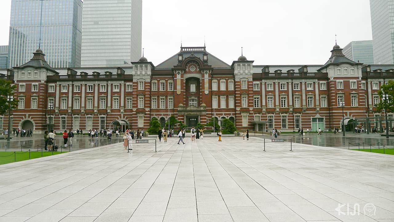 แหล่งท่องเที่ยว สถานีรถไฟในญี่ปุ่น Tokyo station