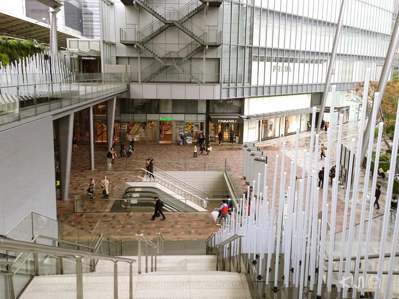 แหล่งช็อปปิ้งในสถานีรถไฟโตเกียว (Tokyo station)