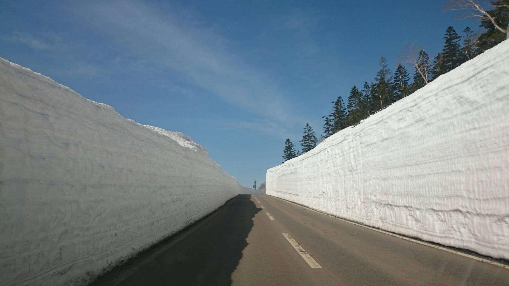 เที่ยว โทโฮคุ ฤดูหนาว ที่ ฮาจิมันไต แอสไปต์ไลน์ (Hachimantai Aspite Line) ในจังหวัดอิวาเตะ