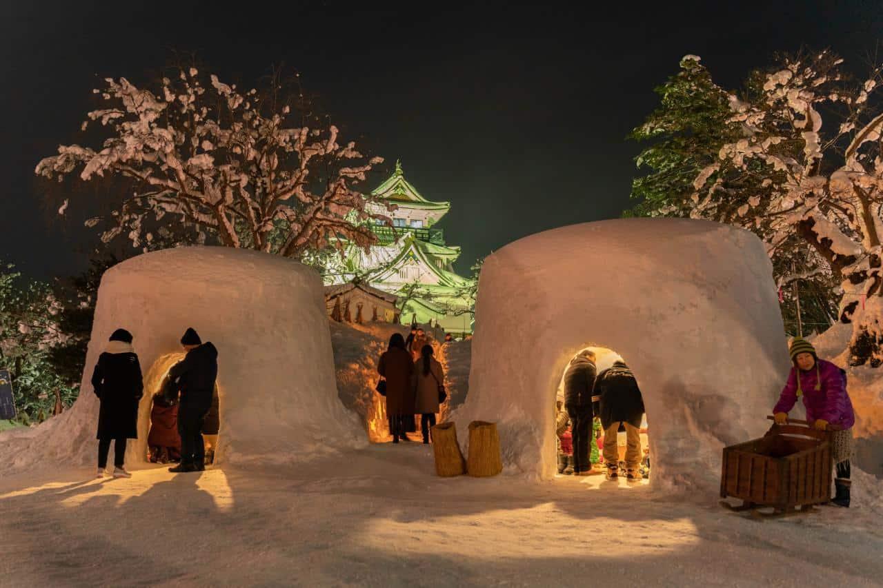 Yokote Kamakura Festival สัมผัสการใช้ชีวิตในกระท่อมหิมะ ที่เที่ยว น่ารักที่จัดขึ้นเฉพาะเดือนก.พ. อาคิตะ