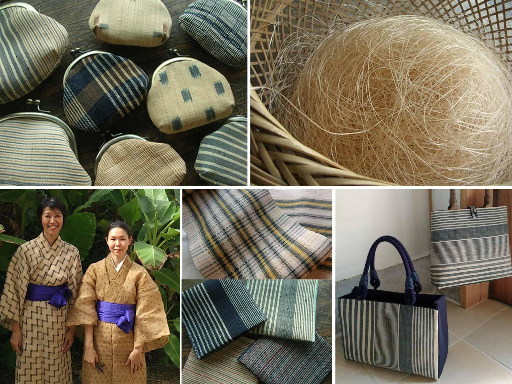 ผ้าบาโซฟุ (芭蕉布) ผ้าทอมือดั้งเดิมของ โอกินาว่า ถือเป็น ของฝาก ที่มีคุณค่าจาก โอกินาว่า