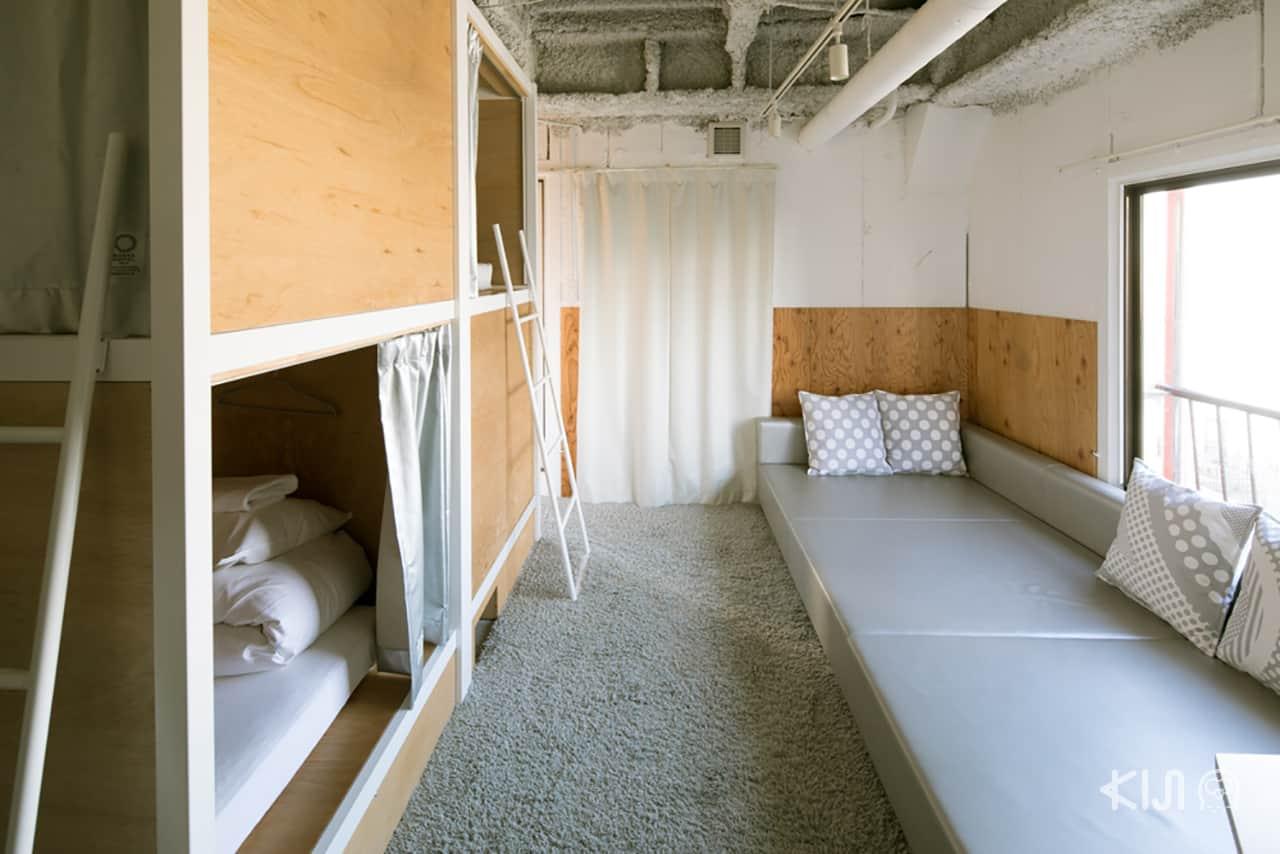 ที่พักย่านอาซากุสะ Bunka Hostel Tokyo รีวิว