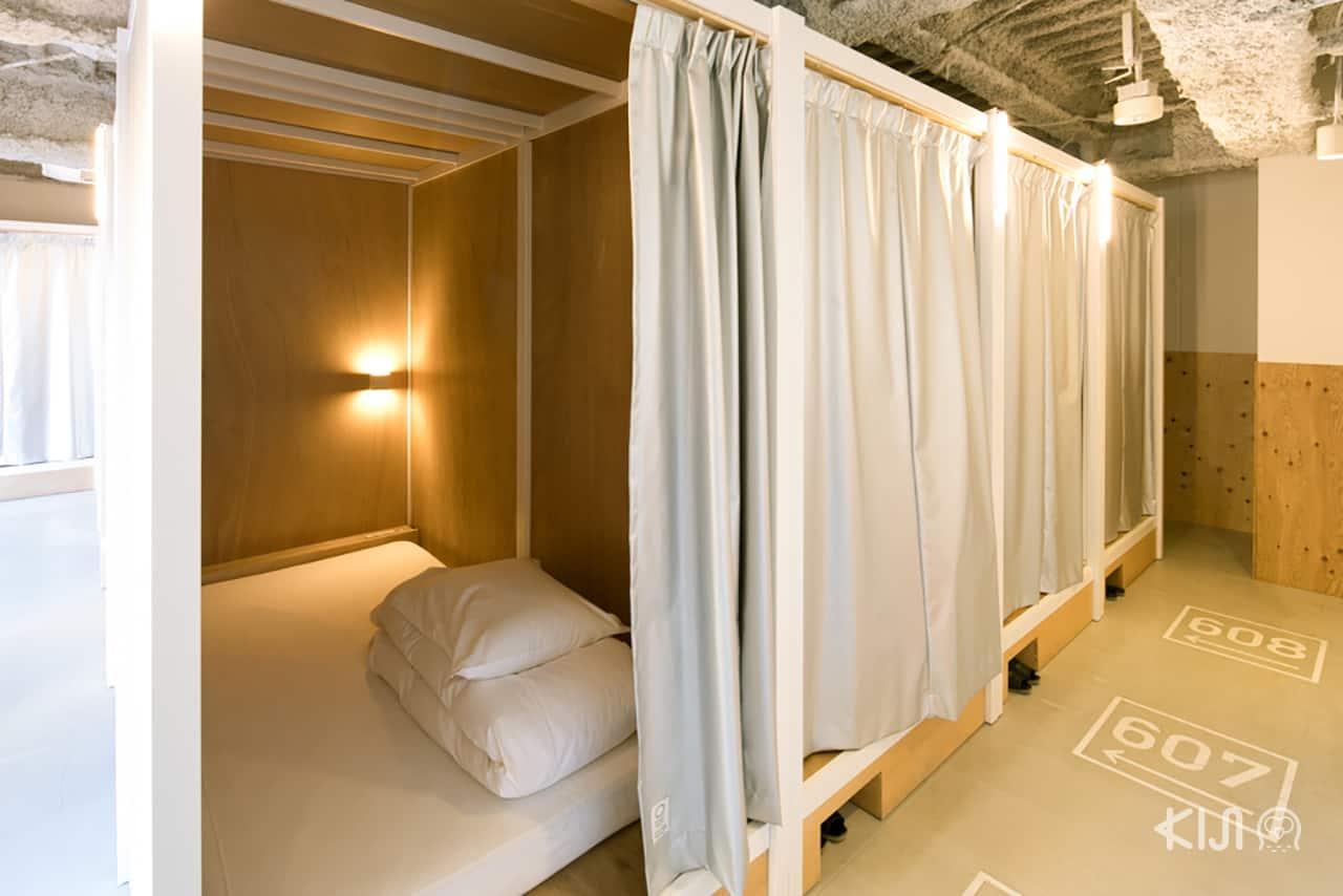 เตียงนอน Bunka Hostel Tokyo